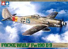 Tamiya 61041 1/48 Scale Model Aircraft Kit Luftwaffe Focke-Wulf Fw 190 D-9