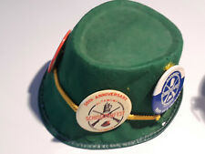 Schuetzenfest Cap/Buttons1972 & 1975 10th Anniversary and Vintage Beer Bucket