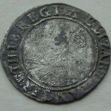 More details for elizabeth i silver shilling hammered tudor coin, mm letter a, 31mm 5.75g, 16thc