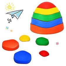 5pcs Kids Balance Stepping Stones Indoor & Outdoor Coordination & Balance Toy