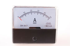 Analog Amp Panel Meter Current Ammeter DC 0-50A