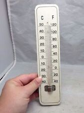 Vintage 1950's wooden thermometer