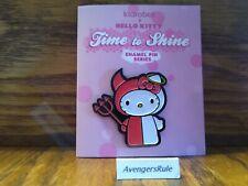 Hello Kitty Time To Shine Enamel Pin Series KidRobot Angel/Devil 2/20