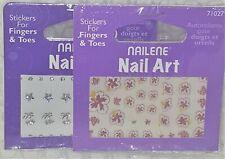 2 NAILENE ART STICKERS 71027 77156