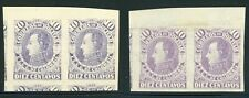 Colombia - BOLIVAR MNG Selections: Scott #20a 10c Violet Printed Both Sides $$$