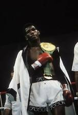 Old Boxing Photo Matthew Saad Muhammad Enters The Ring With His Belt