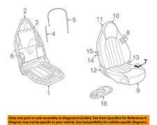 JAGUAR OEM 97-99 XK8 Front Seat Bottom-Foam Cushion Pad Insert Left GJA4403BB