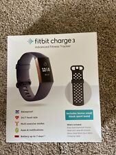 Fitbit Charge 3 Fitness Activity Tracker Heart Rate Monitor Watch Large Small