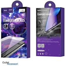 Pellicola Vetro Temperato HOCO iPhone 7 Plus Nero bordi 3d Radiant 9h curva HD