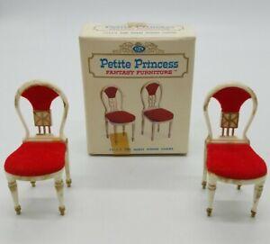 "Ideal Petite Princess ""Guest Dining Chairs"" Set Fantasy Furniture 4414-9 150 NIB"