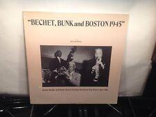 SIDNEY BECHET - Live from Boston 1945 ~ JAZZ ARCHIVES 48 [MINT SEALED] w/Johnson