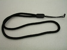 CANON CAMERA WRIST / HAND STRAP  Genuine item,  Black basic model #02595