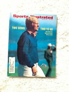 Sports Illustrated Jack Nicklaus Wins US Open 1972 Ford Mustang Surfing Print Ad