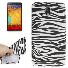 TPU Case für Samsung N9000 Galaxy Note 3 Zebra Style schwarz weiß Schutzcase