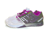 Reebok Sneakers Purple Black CrossFit Nano 5.0 Kevlar Training Running Womens 9