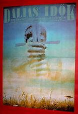 HEROIC TIMES 1983 HUNGARIAN ADRIENNE CSENGER GYULA SZABO J. GEMES  MOVIE POSTER