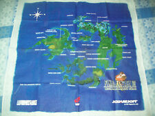 Final Fantasy 8 Cloth Map EB Games Pre-Order RARE! Squaresoft Square Enix 1999