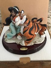 "Giuseppe Armani "" JASMINE and RAJAH"" # 410 C DISNEY COLLECTION: Limited Edition"
