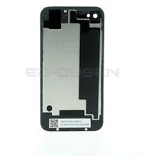Backcover Glas Akkudeckel Rückseite Rückschale für Iphone 4/4G schwarz Neu