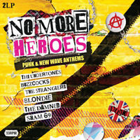 "Various Artists : No More Heroes: Punk & New Wave Anthems VINYL 12"" Album 2"