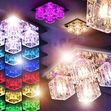LED Farbwechsler Deckenleuchten Flur Lampen Wohn Zimmer Leuchten Fernbedienung