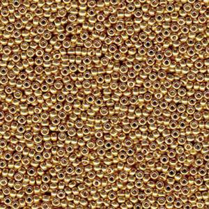 Miyuki 6/0 Glass Seed Beads Japanese Rocailles Duracoat Galvanized 20 grams