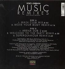 DOLCE & GABBANA - Music (Remixes) - Dance Factory