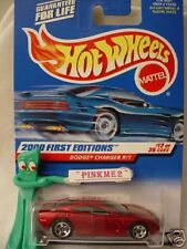 2000 #12 FE Hot Wheels DODGE CHARGER R/T #72 sq∞Red; 5sp ☆ First Editions