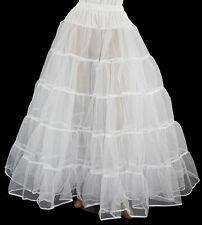 WHITE CRINOLINE 4 VICTORIAN CIVIL WAR DRESS SIZE XL/3X