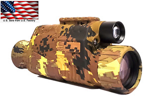 Infrared Night Vision Monocular for hunting security and surveillance outdoors