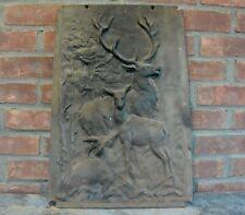 Bas Relief Cast Iron Fireplace Screen; Fireplace Cover; Fire Box Decor