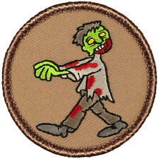 Creepy Boy Scout Patrol Patch! - #603 The Zombie 2013 Patrol!