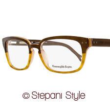 Ermenegildo Zegna Eyeglasses VZ3596 0ADR Size:53 Translucent Brown/Amber 3596