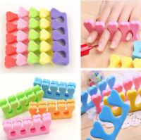 20x Nail Art Sponge Foam Finger Toe Separator Salon Pedicure Fashion Manicure