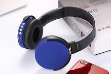 Bt350 Wireless Bluetooth Headset Earphone Headphone With Tf Card Slot,& Fm