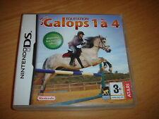 GALOPS 1 A 4 !  EQUITATION  !  JEU DS / DS LITE / DSI / DSI XL / 2 DS
