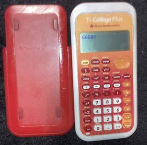 Calculatrice Ti College Plus - Texas instruments - ETAT CORRECT