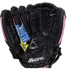 Mizuno Youth Fast Pitch Softball Mitt BLACK 11.50-In Left-Handed Pitcher GPP1155