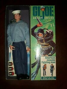 Vintage GI Joe Action Sailor Boxed