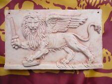 Bassorilievo in cotto Leone di San Marco con spada quadro Venezia