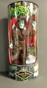 MUNSTERS HERMAN LTD EDITION COLLECTOR'S SERIES DOLL EXCLUSIVE TOYS 1997