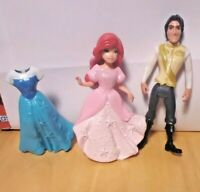 Disney Princess Little Kingdom Little Mermaid Ariel & Eric Doll Figure