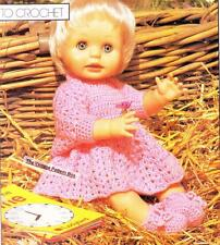 CROCHET SET for FIRST LOVE / BABY BORN or 42cm - COPY doll crochet pattern