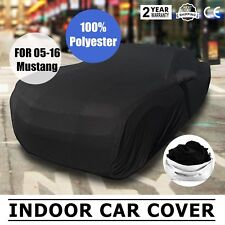 Full Car Cover Ultraguard Stretch Satin Car Covers for 2005-2016 Ford Mustang