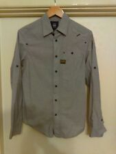 G-Star Raw Button Up Shirt - S - Long Sleeve - Grey
