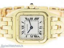 CARTIER Panthere Donna 18K GOLD OROLOGIO AL QUARZO-Cartier watch