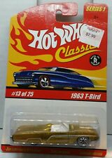 Hot Wheels 1963 Ford Thunderbird Hot Wheels Classics Series 1 13/25  (218