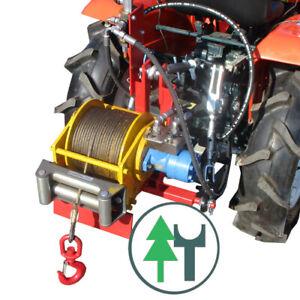 Seilwinde hydraulische Forstseilwinde Traktorwinde - Bausatz für Kleintraktor