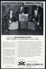 1958 Magnatone 280 A amp Al Hendrickson Bill Pitman Bobby Gibbons photo ad