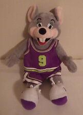 """Chuck E. Cheese Mouse Basketball Jersey 12"""" Plush Stuffed Animal Toy"""